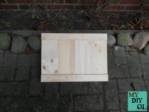 My do it yourself schuhabstellfl che aus holz for Wohnzimmertisch do it yourself