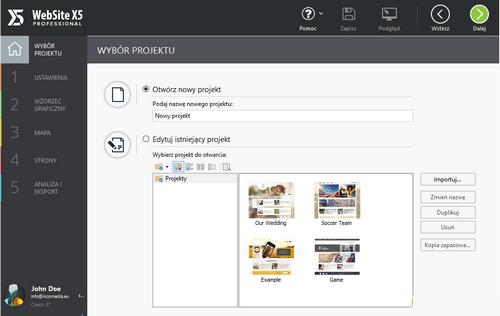 WebSite X5 Professional 13.1.7.20 Portable (PL)