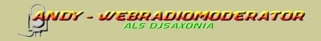 Andy - Webradiomoderator