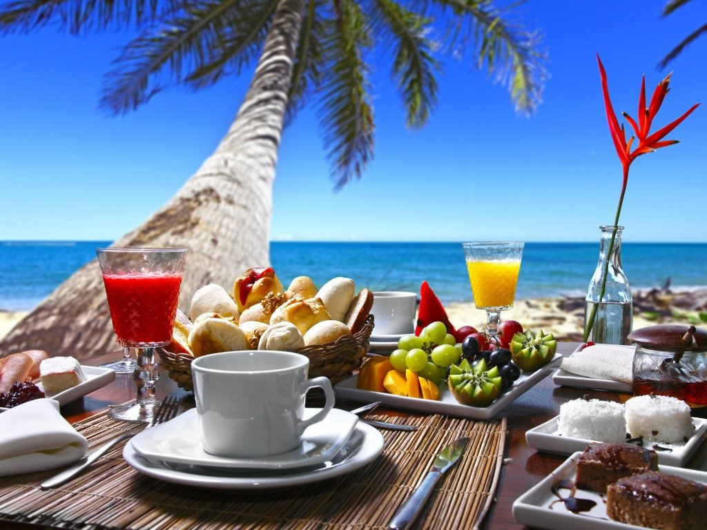 Beeindruckend Guten Morgen Frühstück Dekoration Von Morgen, Heute Gibts Frühstück Am Traumstrand8)
