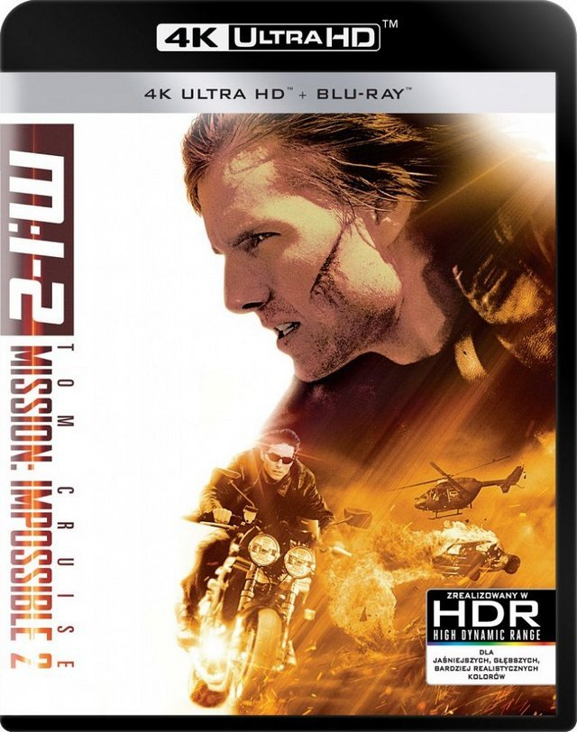 Mission: Impossible 2 / Mission: Impossible II (2000) MULTi 2160p