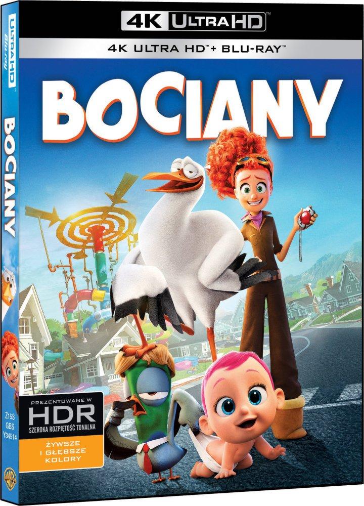 Bociany / Storks (2016) DUAL 2160p REMUX UHD BluRay HEVC HDR