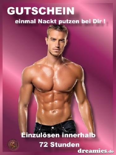 Mann nackt putzen Nackt putzen