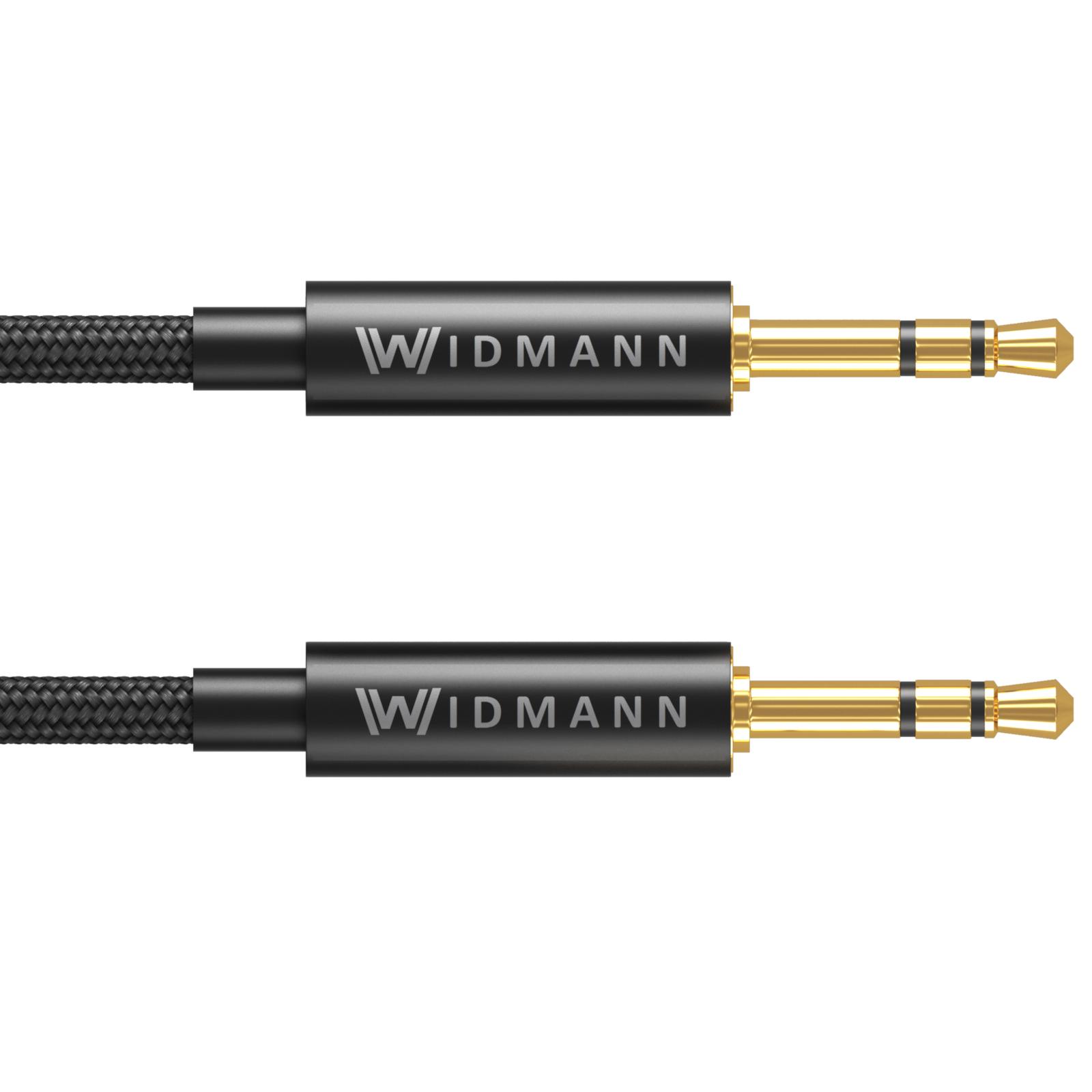 2m aux kabel 3 5mm klinke stecker klinkekabel handy mp3. Black Bedroom Furniture Sets. Home Design Ideas