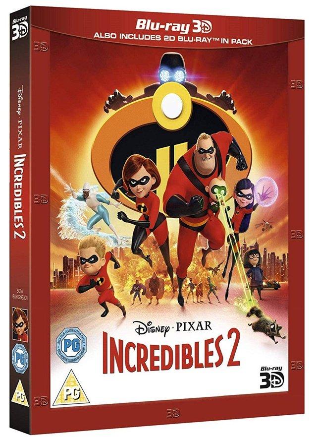 Iniemamocni 2 / Incredibles 2 (2018) 3D PLDUB.1080p.Half-OU.BluRay.DD5.1.x264-P2P / Dubbing PL i Napisy PL