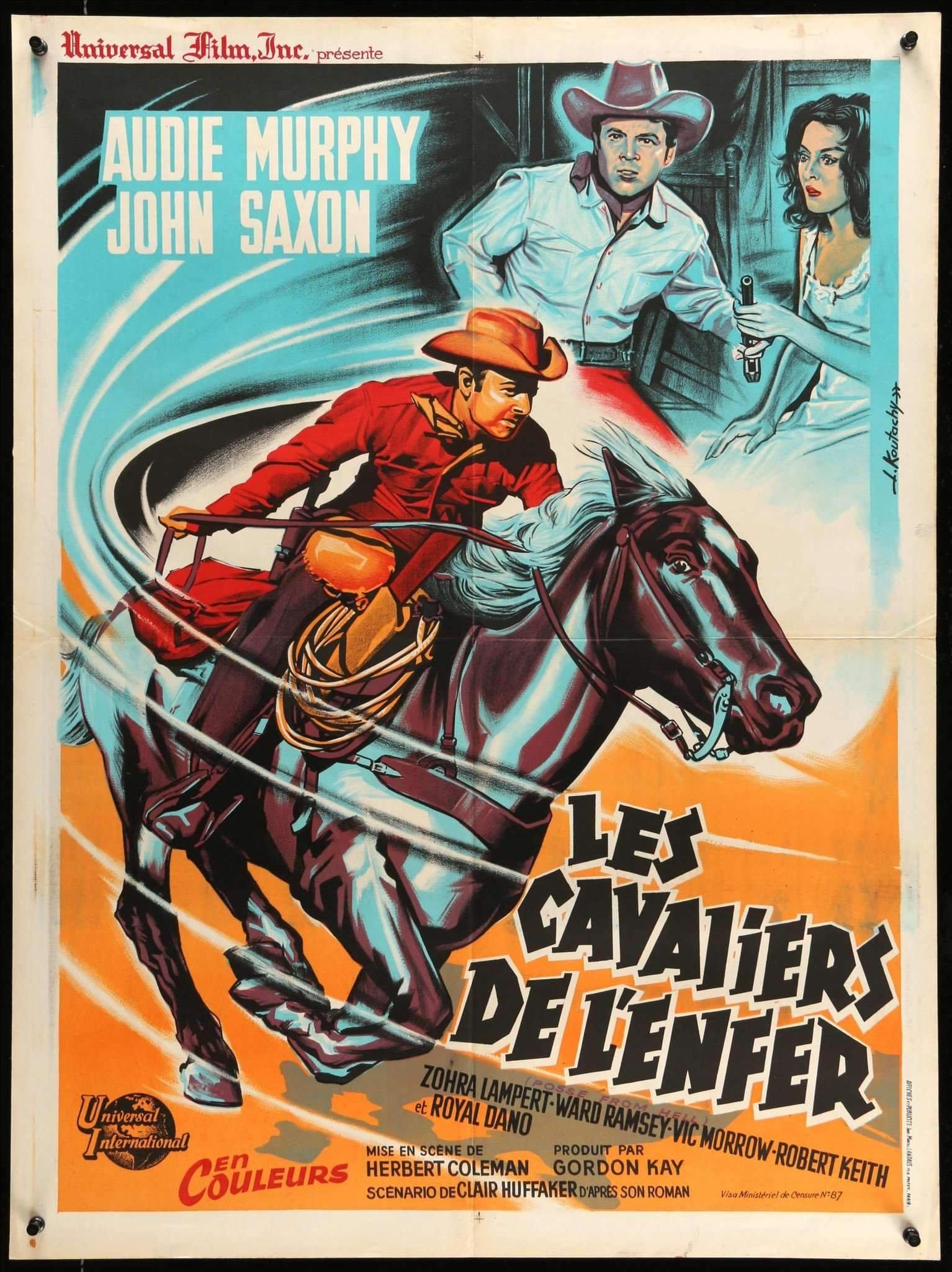 Western Die Gnadenlosen Vier 1961 Audie Murphy Dvd 5
